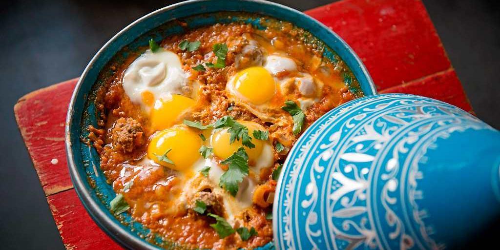 Kefta Mkaouara (marrokanske kødboller i tomatsovs)
