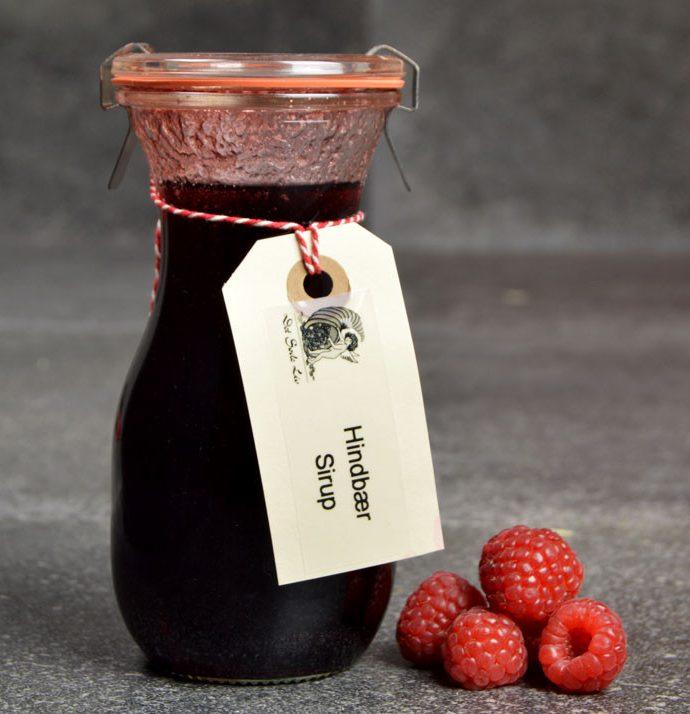 Hindbærsirup